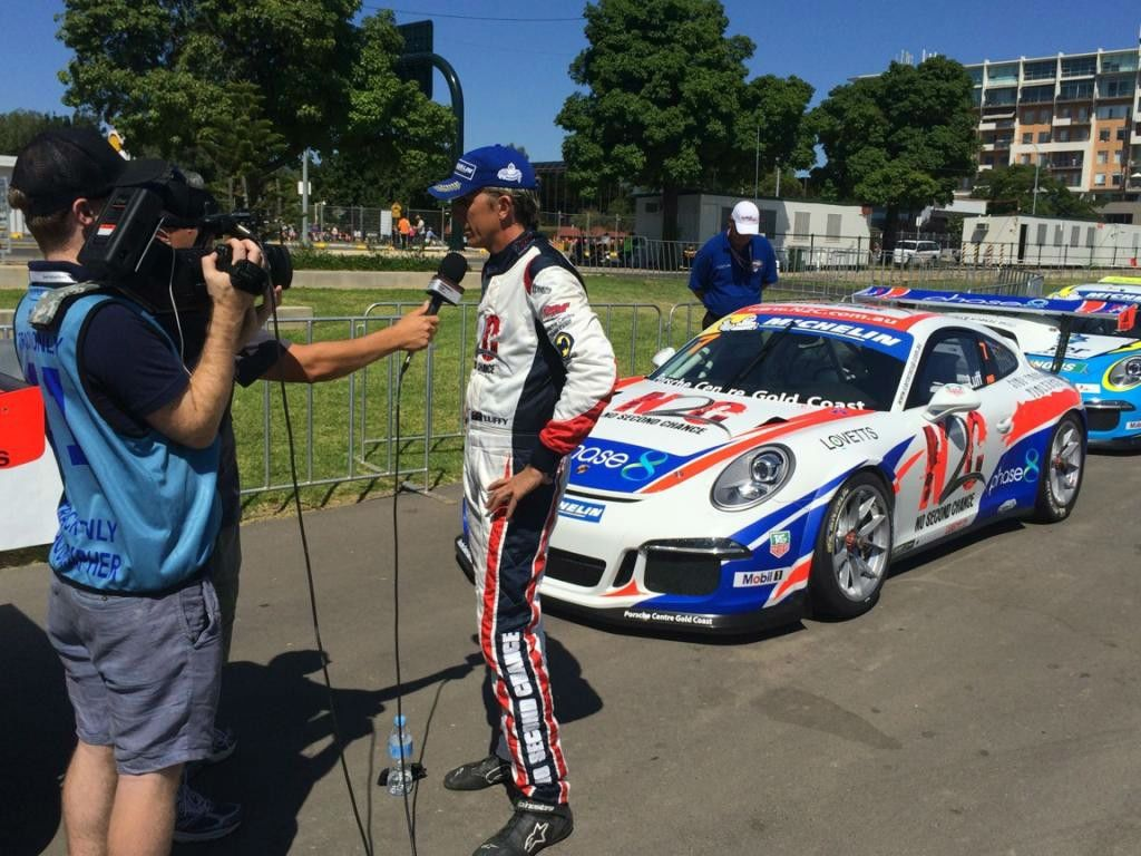 2014_Luff_talking_with_Media_Clipsal