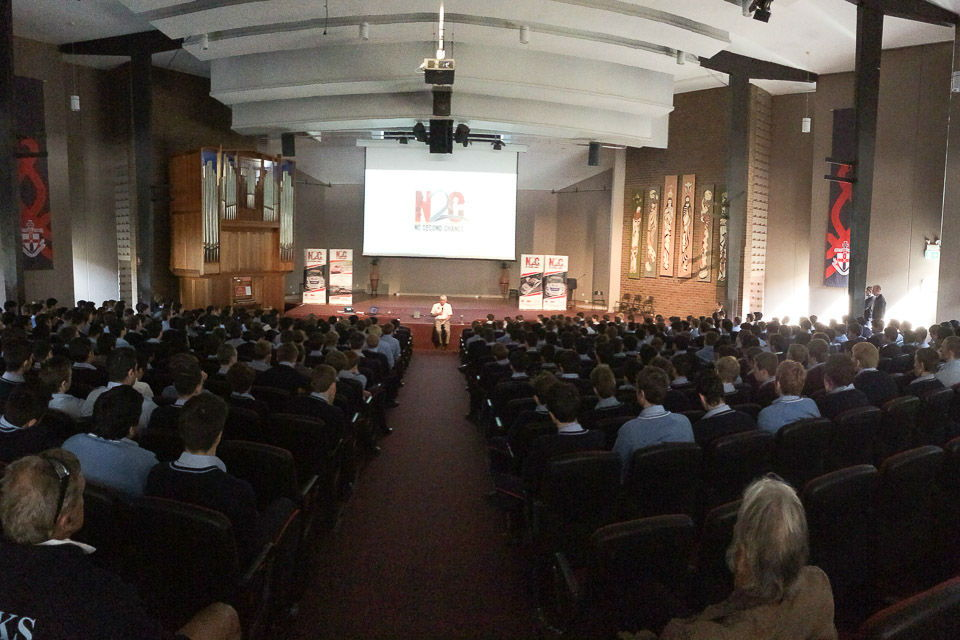 Paul Stanley talks to more than 400 Students at The Kings School in Sydney