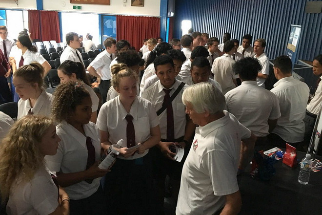 N2C at Wavell State High School in Brisbane