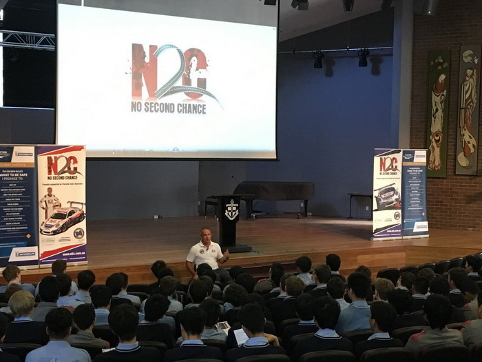 Matt Speakman with N2C at The Kings School
