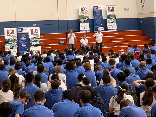 N2C presentation at Brisbane State High School 2019