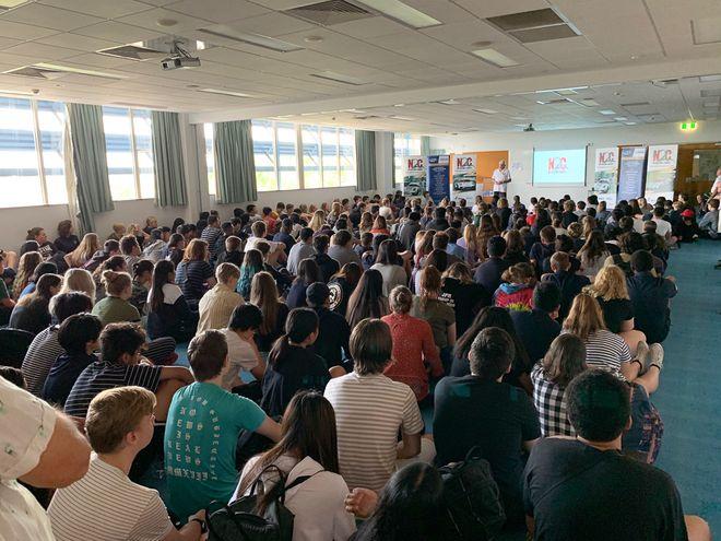 Presentation Update: Darwin High School in the Northern Territory 2019