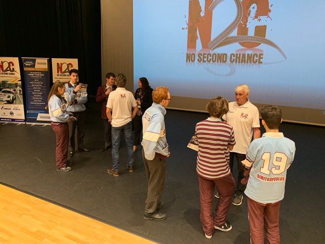 No Second Chance with the Students at St Johns Grammar School