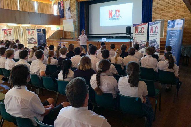 N2C Presenter Warren Luff Speaks at Scots All Saints in Bathurst