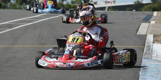 N2C Kart Team in the thick of it at Newcastle