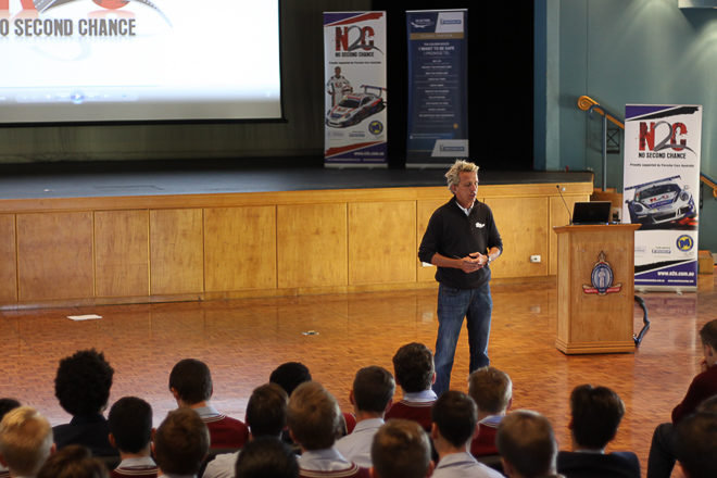Warren Luff at The Southport School